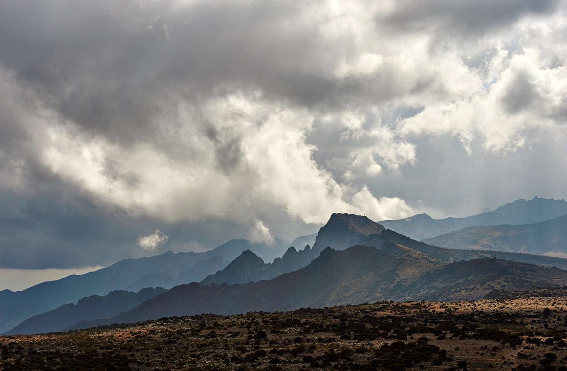 Stunning Kilimanjaro Landscape as Seen When Trekking on Lemosho