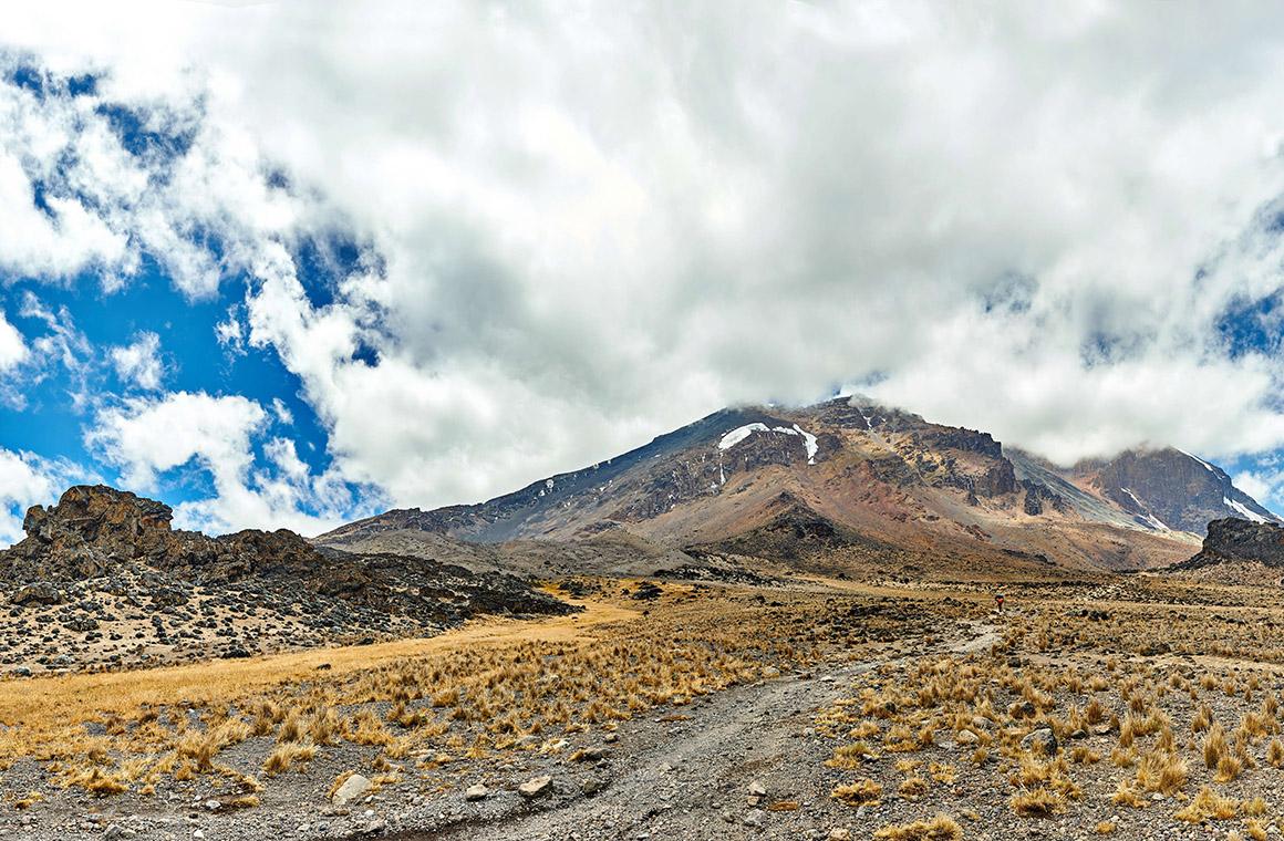 Lemosho Route Trail in Kilimanjaro Highland Barrens